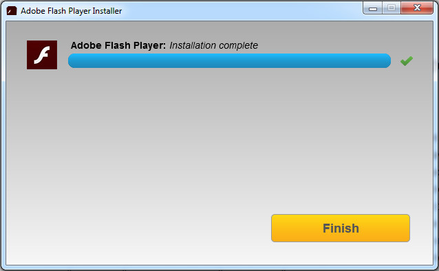 Adobe Flash Player установка